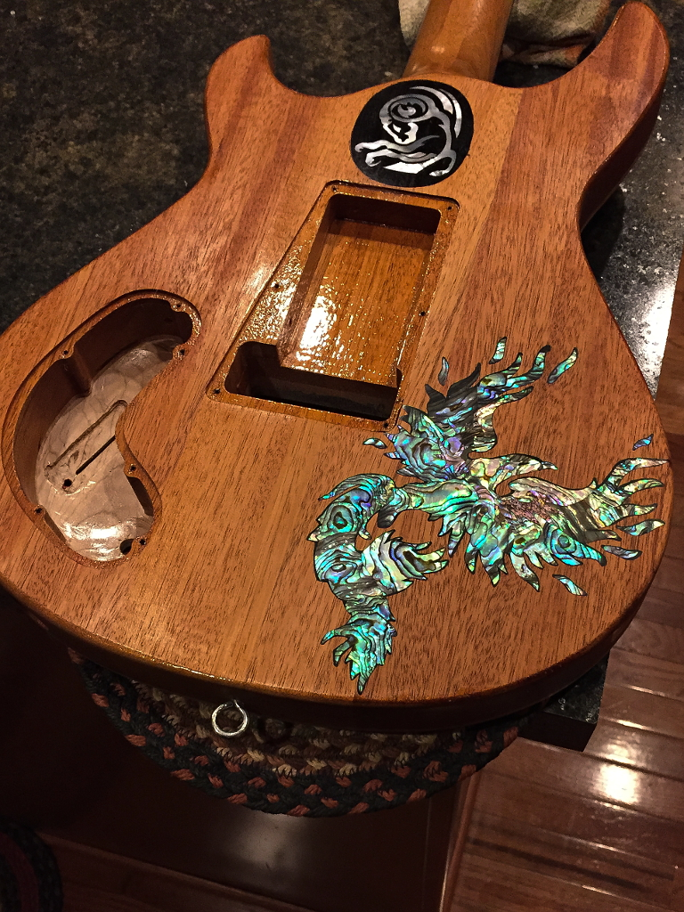 Phoenix8 Addict Guitars Custom Hand Made Guitars